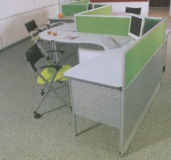 3公分屏風,面板可選用不同顏色,或凸點鋼板烤銀色漆,更具科技感