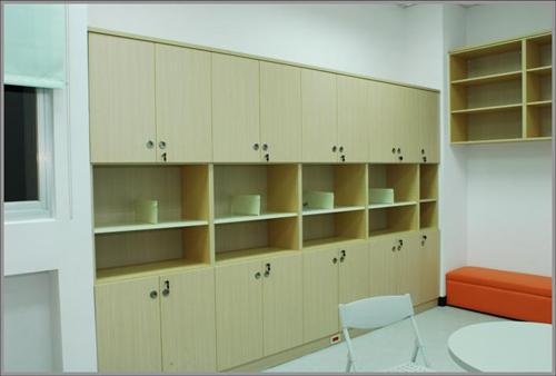 木製系統牆櫃09-002