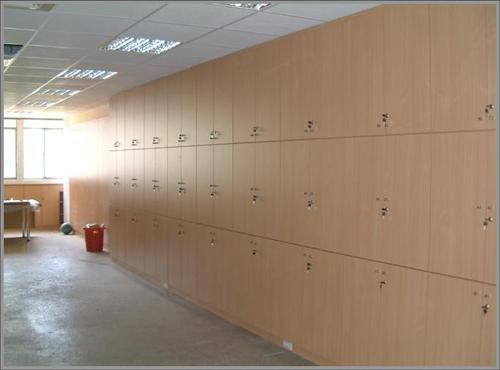木製系統牆櫃09-003